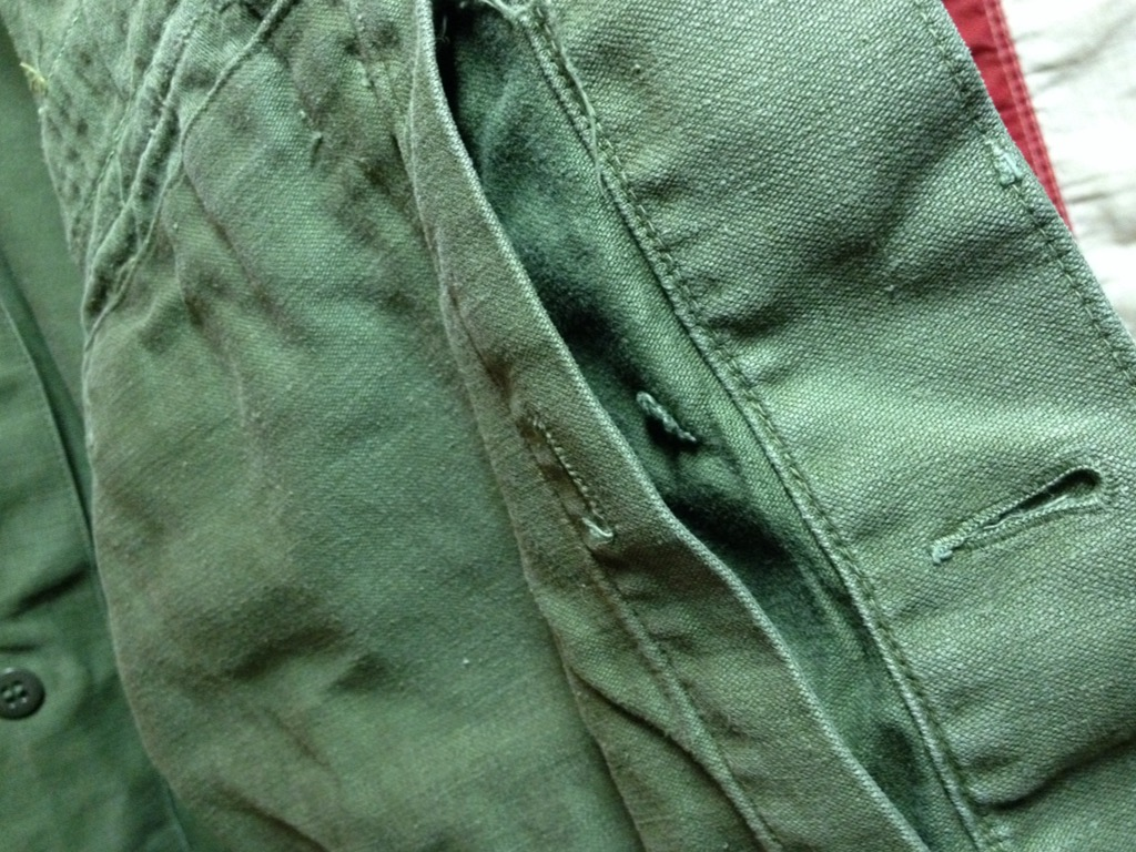 神戸店6/25(土)ヴィンテージ入荷!#3 30\'s U.S.M.C.  Metal Button Chino Trousers!!!(T.W.神戸店)_c0078587_21491893.jpg