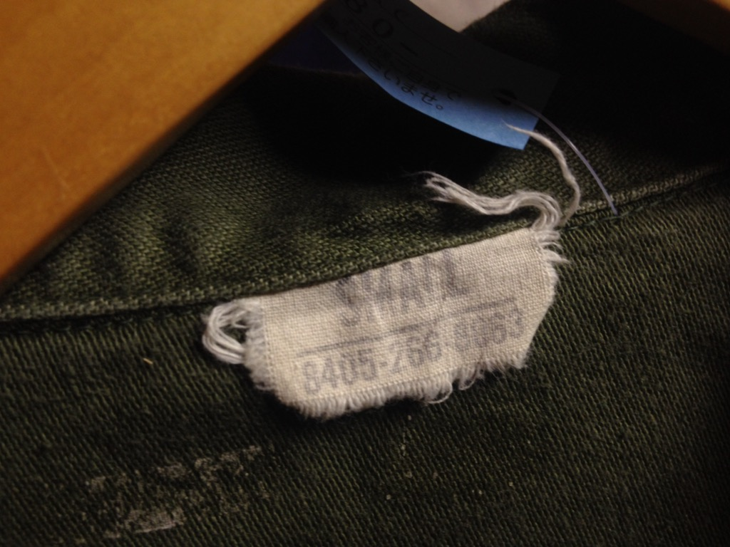 神戸店6/25(土)ヴィンテージ入荷!#3 30\'s U.S.M.C.  Metal Button Chino Trousers!!!(T.W.神戸店)_c0078587_21541184.jpg