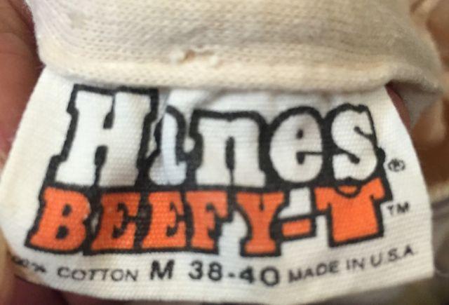 6月25日(土)入荷!  70s~ HANES  BEEFY Tシャツ!_c0144020_1428188.jpg