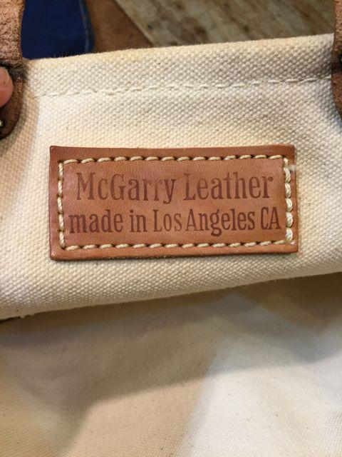 6月25日(土)入荷!McGarry Leather Toto bag!_c0144020_15214415.jpg