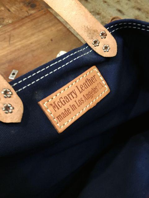6月25日(土)入荷!McGarry Leather Toto bag!_c0144020_15214589.jpg
