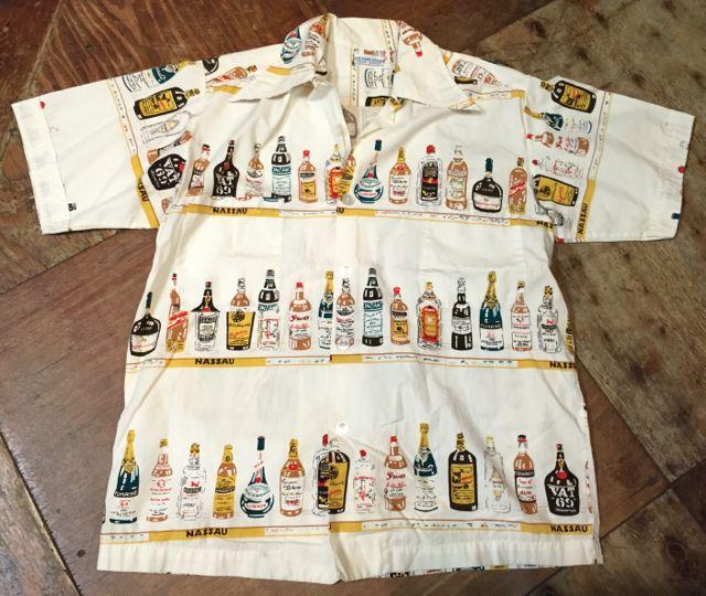 6月25日(土)入荷!60s all cotton ! ボトル柄 シャツ!!_c0144020_15565940.jpg