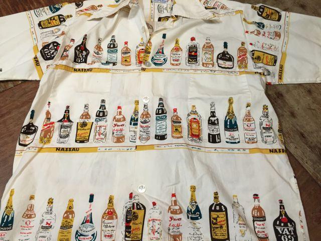 6月25日(土)入荷!60s all cotton ! ボトル柄 シャツ!!_c0144020_155757.jpg