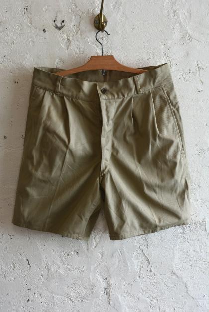 Italian army chino shorts dead stock_f0226051_15223909.jpg