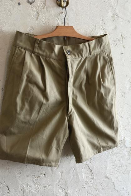Italian army chino shorts dead stock_f0226051_15234952.jpg