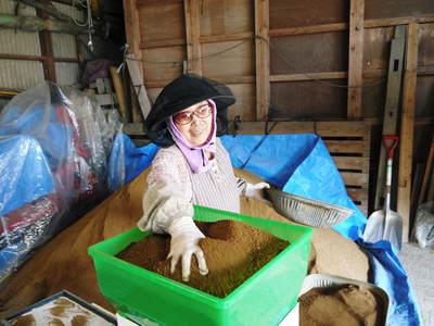 七城米 長尾農園 苗箱作り~美しすぎる苗床 惜しまぬ手間ひまで至高のお米を育てます(前編)_a0254656_17512025.jpg