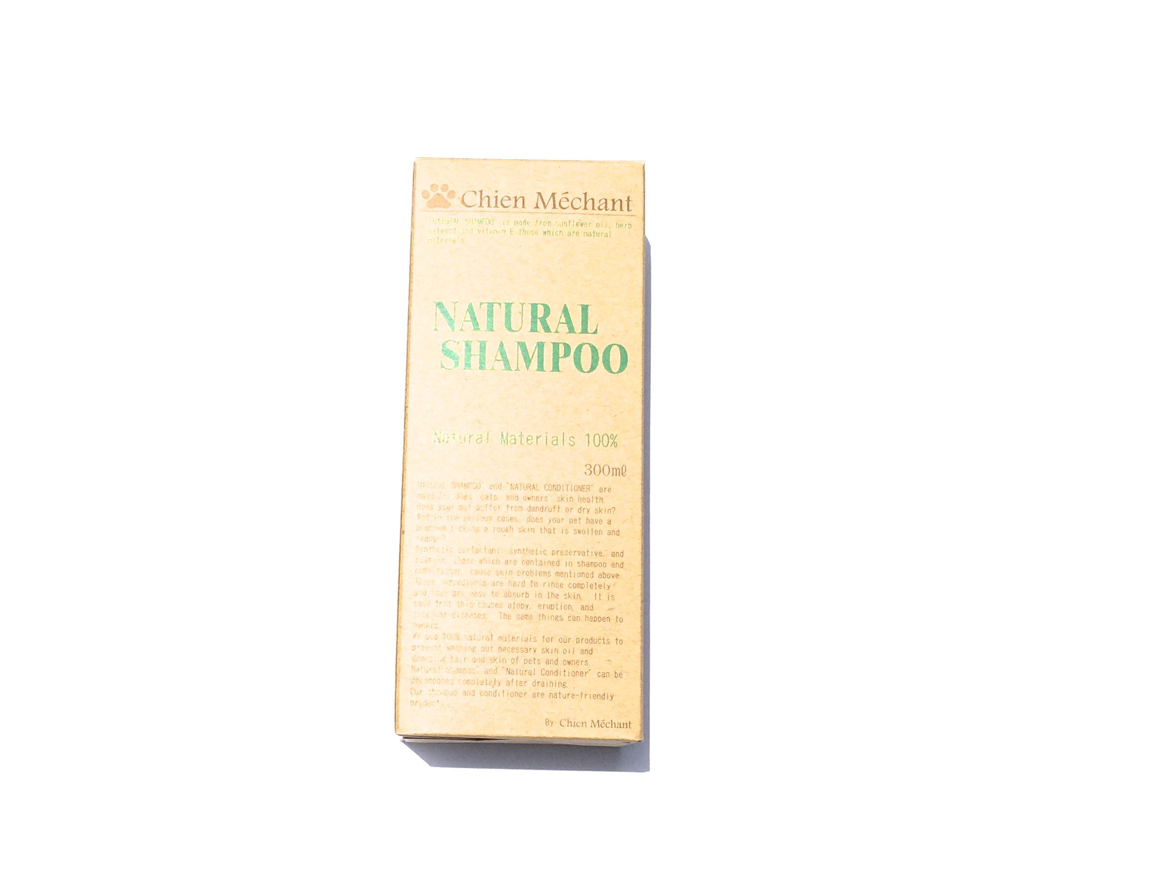 Chien Mechant   NATURAL SHAMPO シャンメシャン 自然のシャンプー_d0217958_128385.jpg