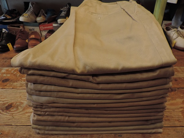 UTILITY  TROUSERS & CHINO TROUSERS_c0146178_17485668.jpg