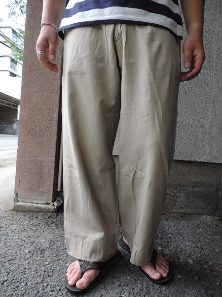 UTILITY  TROUSERS & CHINO TROUSERS_c0146178_17491288.jpg
