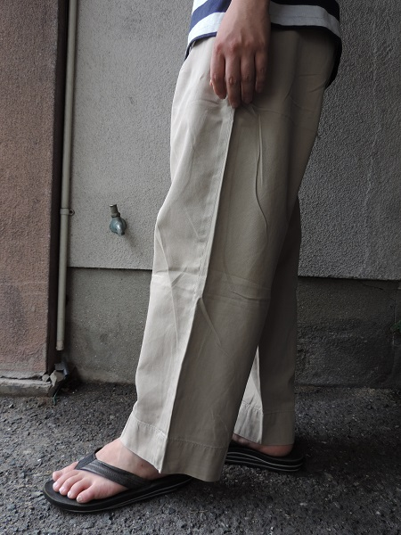 UTILITY  TROUSERS & CHINO TROUSERS_c0146178_17492143.jpg