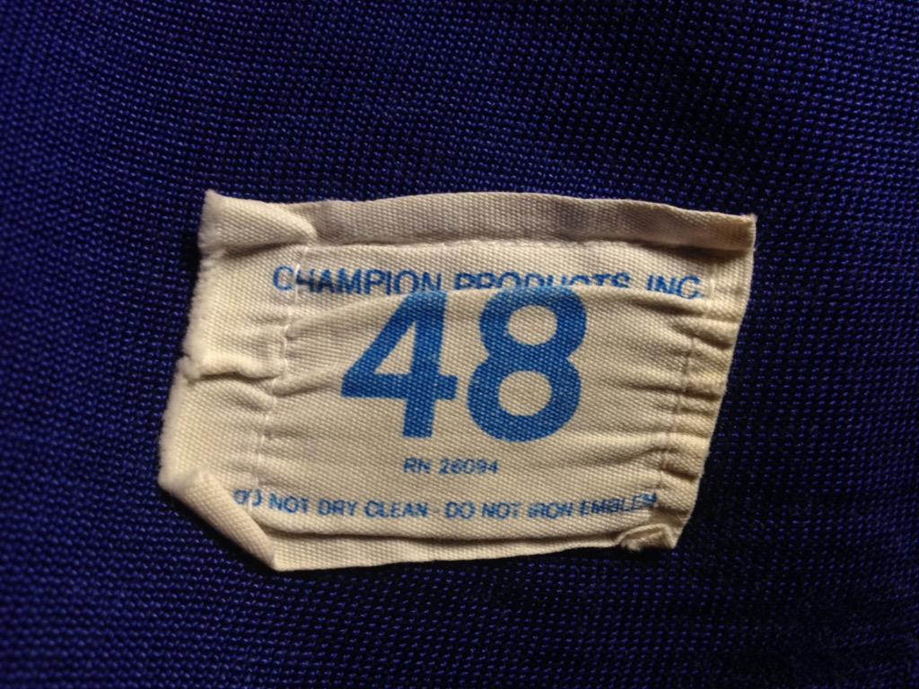 神戸店6/25(土)ヴィンテージ入荷!#4 1950\'s Fron V Print Sweat,Champion!!!(T.W.神戸店)_c0078587_16263956.jpg