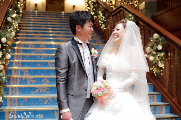 ロマンティックなプリザーブドフラワーのウエディングブーケ@京都_b0138802_0464666.jpg