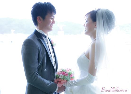 ロマンティックなプリザーブドフラワーのウエディングブーケ@京都_b0138802_056499.jpg