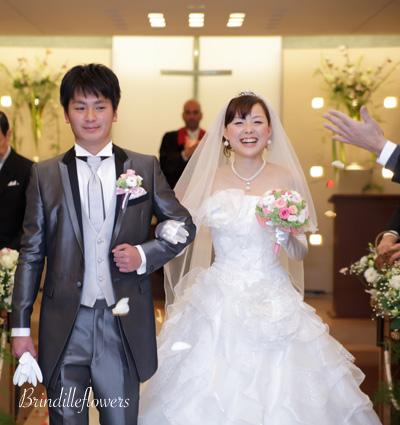 ロマンティックなプリザーブドフラワーのウエディングブーケ@京都_b0138802_0584982.jpg