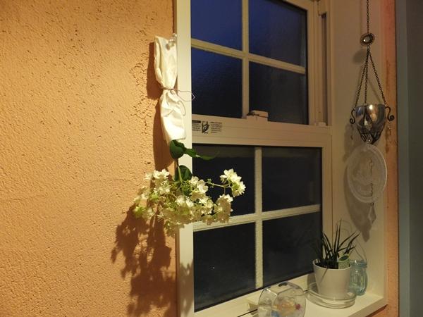 トイレにあじさいを飾りました_f0035506_2262148.jpg
