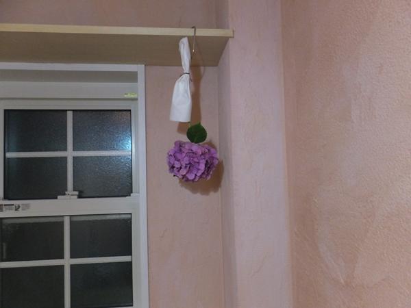 トイレにあじさいを飾りました_f0035506_226296.jpg