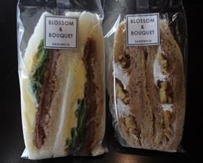 ブロッサム アンド ブーケのサンドイッチを食べて文楽若手会の妹背山婦女庭訓 _c0030645_22364058.jpg