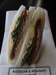 ブロッサム アンド ブーケのサンドイッチを食べて文楽若手会の妹背山婦女庭訓 _c0030645_22454186.jpg