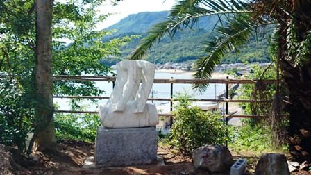 作業日誌(石川浩大理石彫刻小豆島設置作業)_c0251346_1711541.jpg