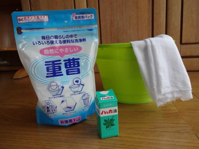 暑い夏のお掃除は香り&殺菌・消臭効果抜群のハッカ油で乗り切る!