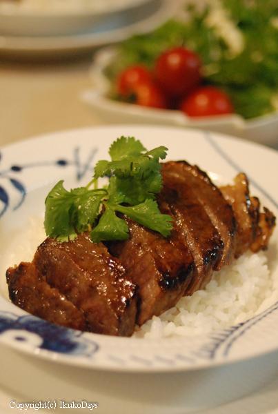粕漬の肉厚お肉 : 黄木 『米沢牛すみれ漬』_d0114093_23382369.jpg