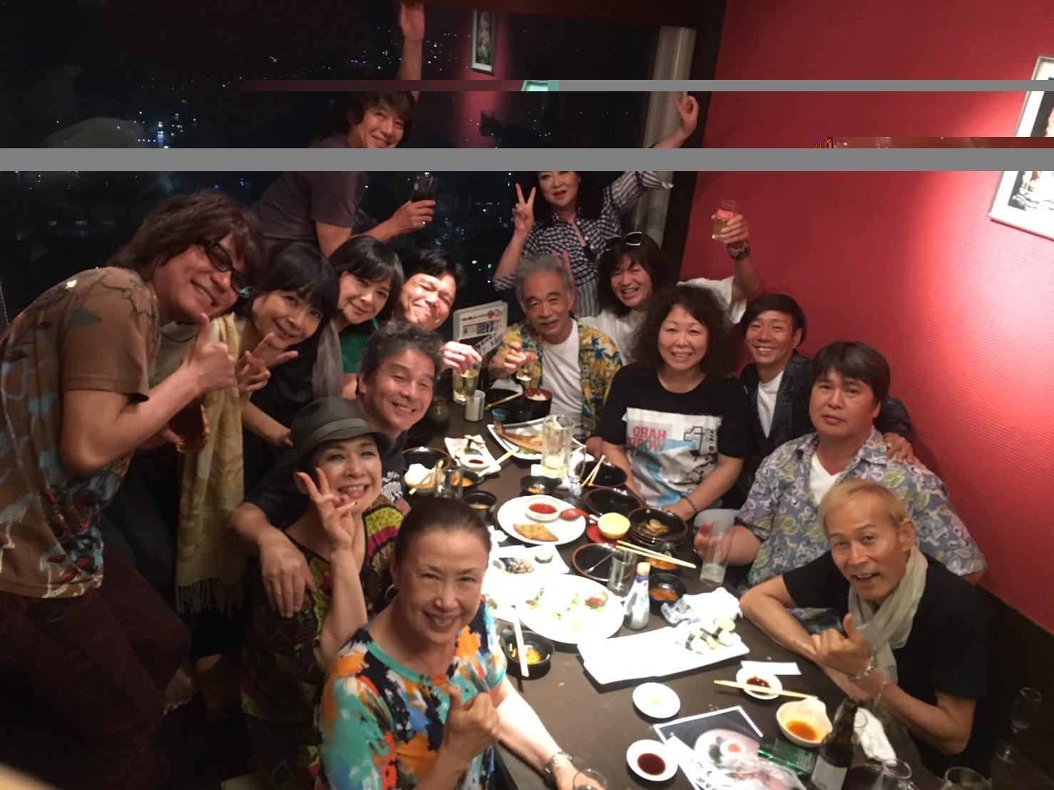 同窓会コンサート大阪ツアー 最終日を残して 打上げ中~_b0096957_22395063.jpg