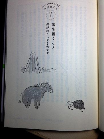 本の話 「カメが教えてくれた、大切な7つのこと」サンマーク出版2016年_f0362073_4573676.jpg