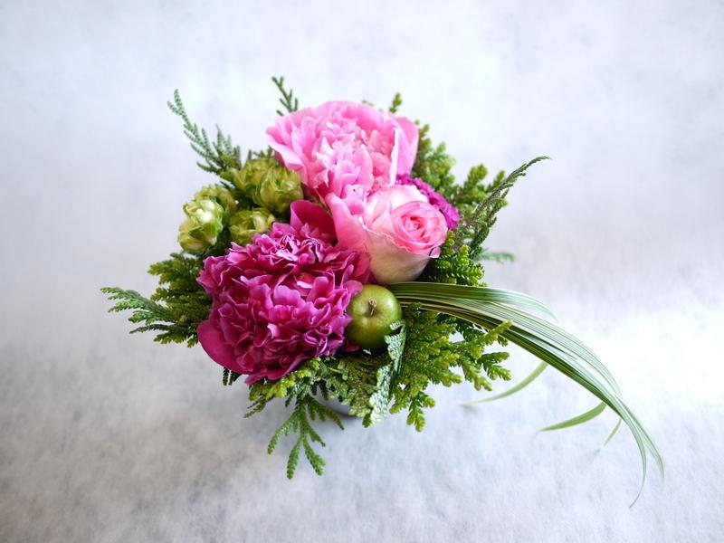Plantation5周年記念Partyでのライブに出演される、Jazzシンガーの遠藤 雅美さんへのお花。_b0171193_19374800.jpg