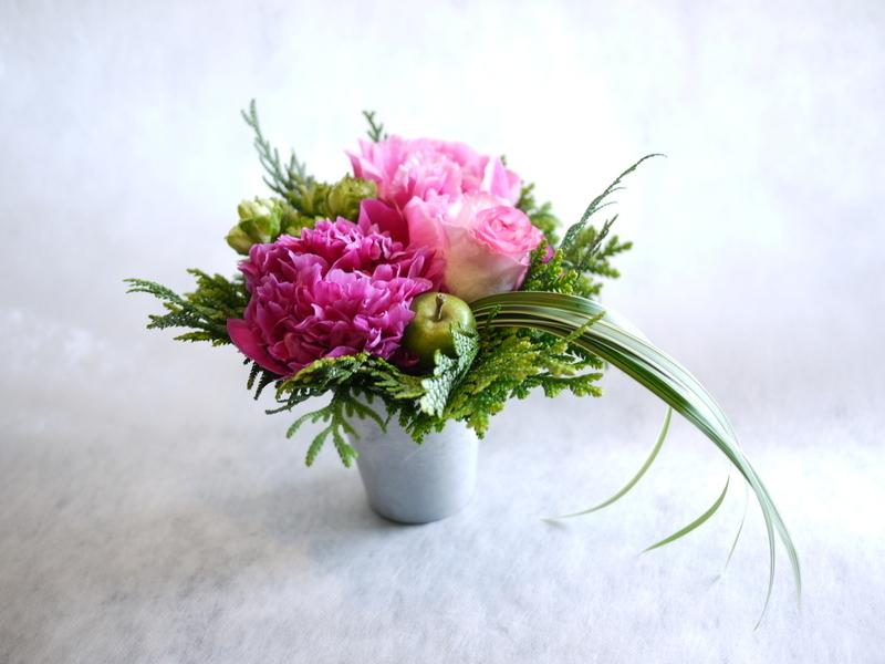 Plantation5周年記念Partyでのライブに出演される、Jazzシンガーの遠藤 雅美さんへのお花。_b0171193_19390309.jpg