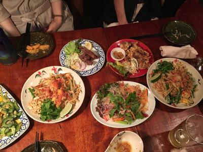 蒸し暑い夜はタイ料理でも_a0283796_14244450.jpg