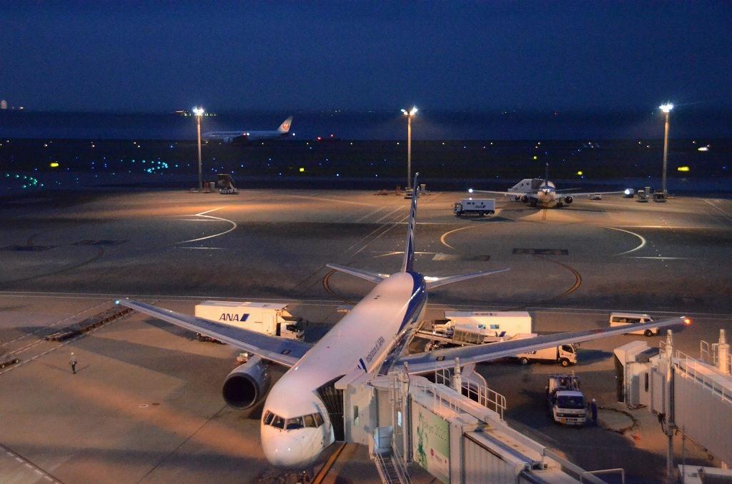 夜の羽田空港_d0065116_21584187.jpg