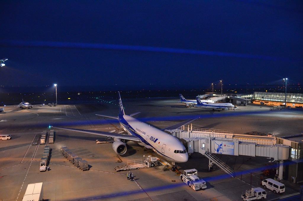 夜の羽田空港_d0065116_2204266.jpg