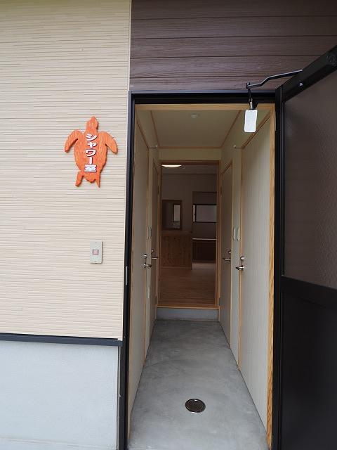 はざこネイチャーセンター管理宿泊棟が完成♪_d0177220_13424883.jpg