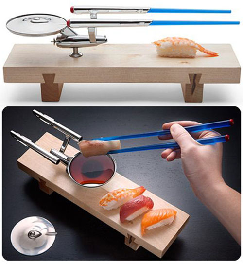 Star Trek U.S.S. Enterprise NCC - 1701 Sushi Set _e0118156_9144543.jpg