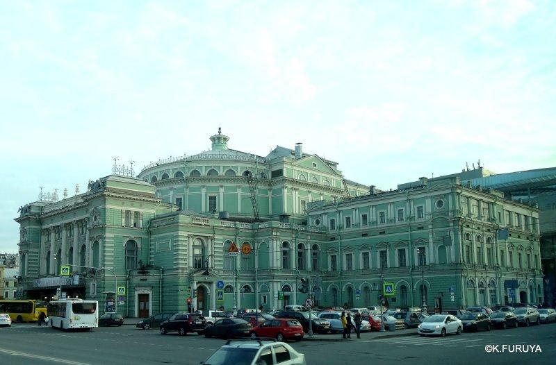 ロシアの旅 15 マリインスキー劇場でオペラ鑑賞_a0092659_19360437.jpg
