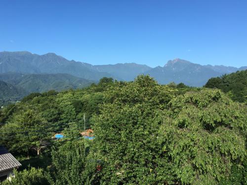 甲斐駒ヶ岳の様子は今。_d0338282_07022967.jpg