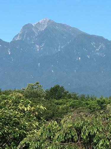 甲斐駒ヶ岳の様子は今。_d0338282_07022992.jpg