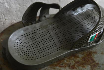 Italian army sensi sandals dead stock_f0226051_14250157.jpg