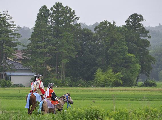 相馬野馬追宵祭り_f0143469_9265981.jpg