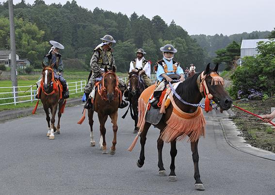 相馬野馬追宵祭り_f0143469_9271382.jpg