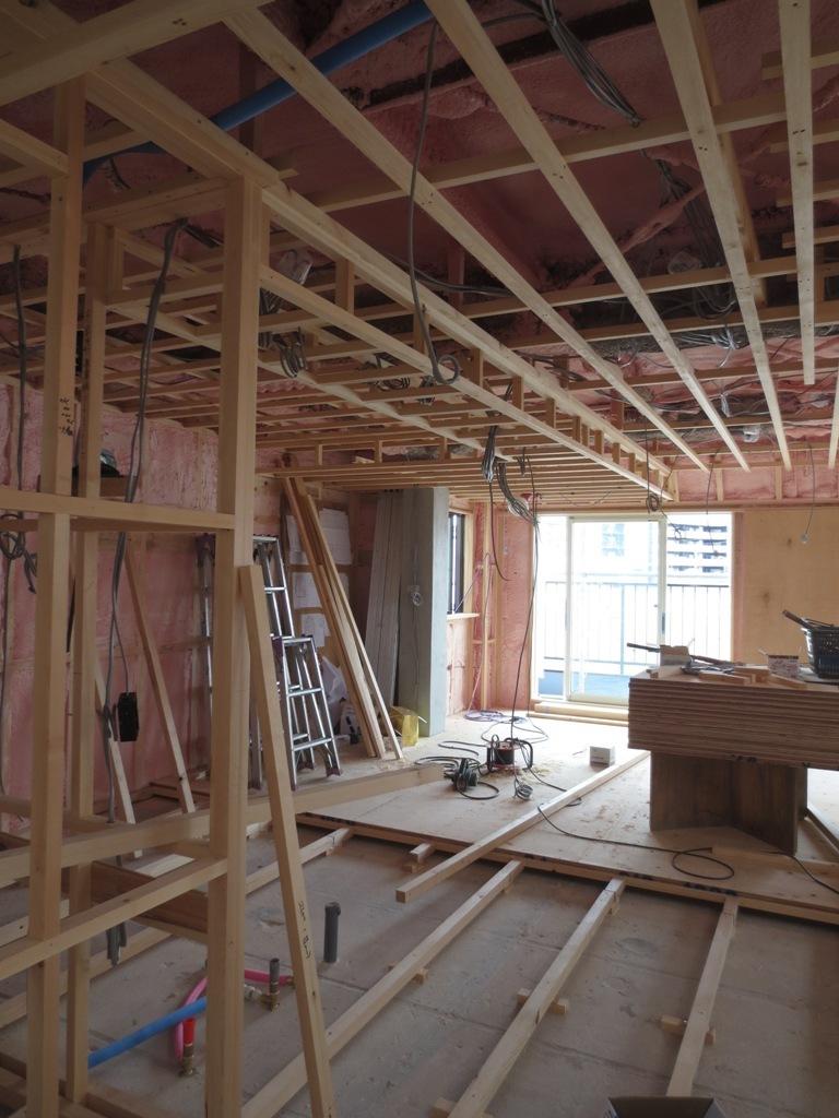 桜台の家改修 外壁ガルバリウム鋼板一文字葺き_c0310571_16093534.jpg