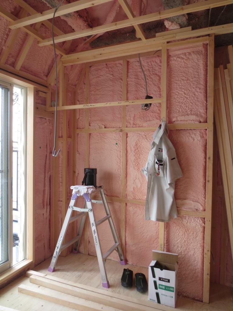 桜台の家改修 外壁ガルバリウム鋼板一文字葺き_c0310571_16093783.jpg