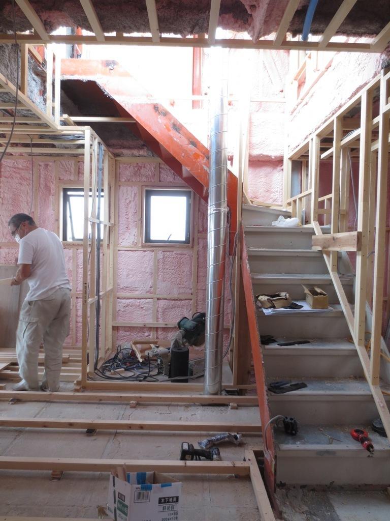 桜台の家改修 外壁ガルバリウム鋼板一文字葺き_c0310571_16094630.jpg