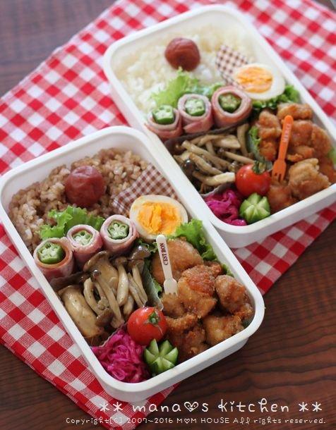 鶏のから揚げ ✿ 野菜チャンプルー etc.  _c0139375_1122851.jpg