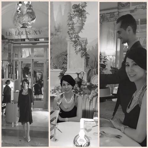 南仏の旅2016~パリ旅 Le Louis XV – Alain Ducasse à l'Hôtel de Paris♪_a0138976_15182.jpg