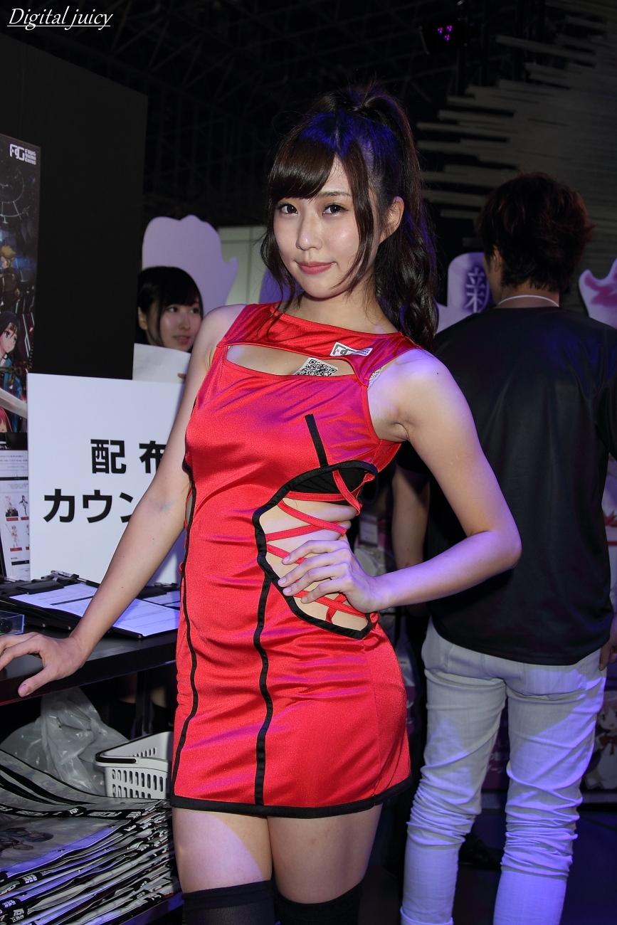 橘亜李彩 さん(Fuji&gumi Games ブース)_c0216181_1471233.jpg