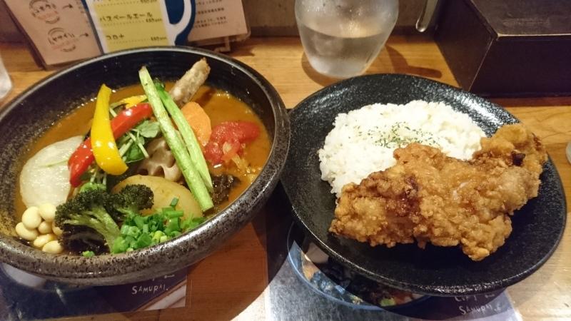 札幌と言えばやはりスープカレーです。_c0225997_16053872.jpg