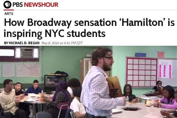 高校生は『ハミルトン』を10ドルで見れちゃう教育プログラムが、なんと全米規模に拡大へ!!! #EduHam_b0007805_23251072.jpg