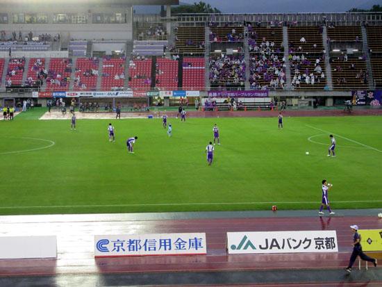 サッカー京都サンガ対熊本ロアッソ_e0048413_2332179.jpg