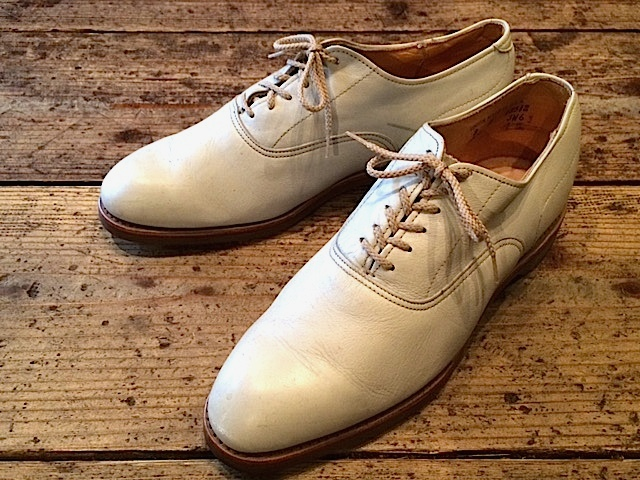 Leather Shoes Off-white_f0203050_15565362.jpg